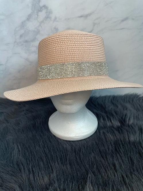 Pink Brim Hat