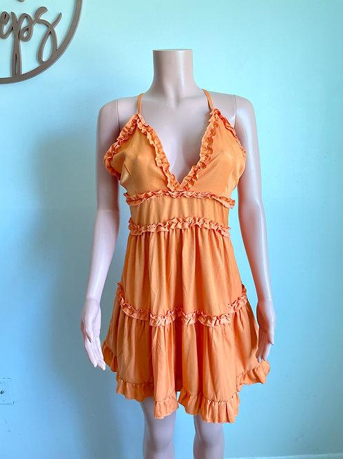 Ruffle Mini Dresss