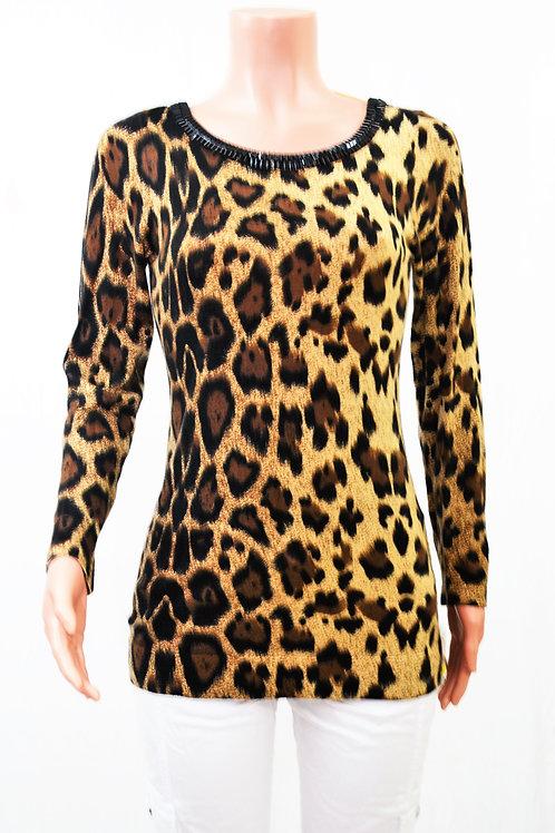 Inc International Concepts Tops   Inc Cheetah Print Sweater