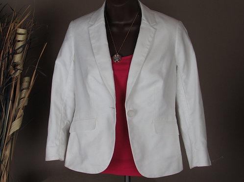 The Limited White Spring Blazer