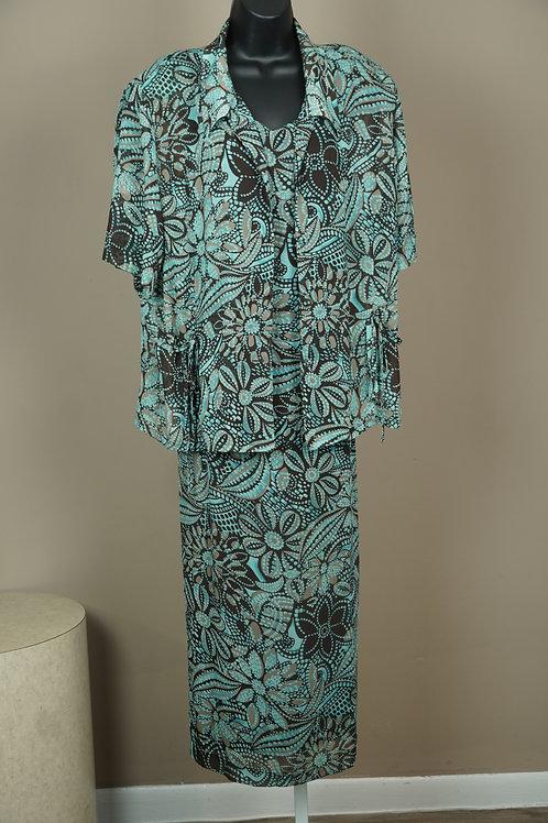 KSL Division of Karin Stevens 2pc Dress