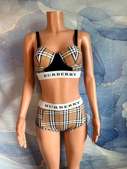 Burberry Bikini Set