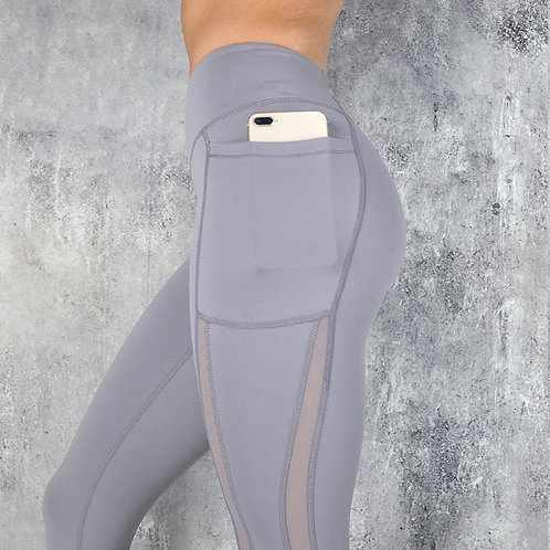 SVOKOR  Fitness Women Leggings  High Waist  Pocket Workout Fashion Casual