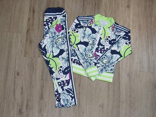 Floral Pants Jogger Casual Joggers Print