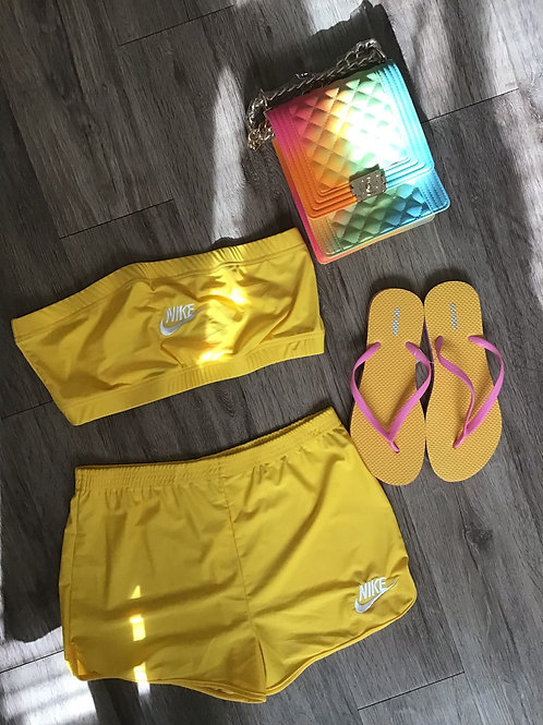 Nike Two Piece Strapless Shorts
