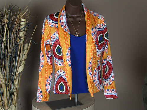 Dashiki Long Sleeve Fashion African Print Casual Jacket
