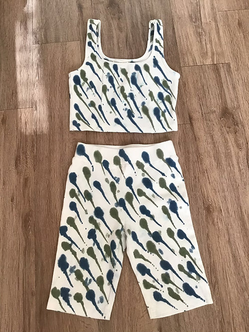Two Piece Fitness Short Set