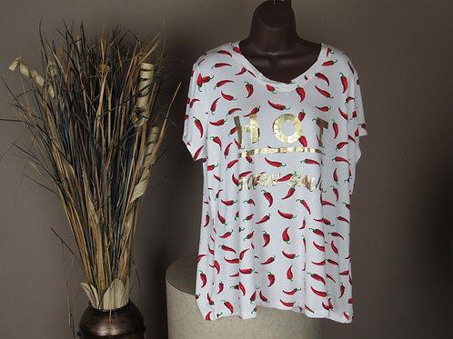 Ashley Stewart Hot Pepper Shirt