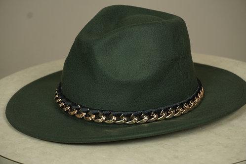 Vintage Women Wool Fedora Hat