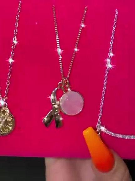 Avon Pink Necklace