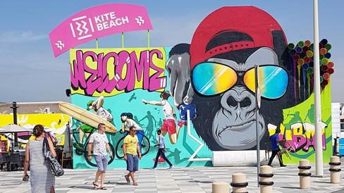 Kite Beach - Welcome Sign