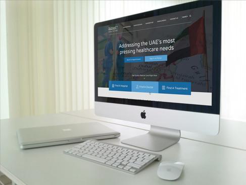 Mubadala Health - Website & Backend