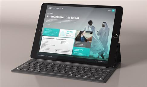 Mubadala - Internal Talent iPad Application (2)