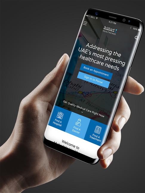 Mubdala Health - Mobile Application