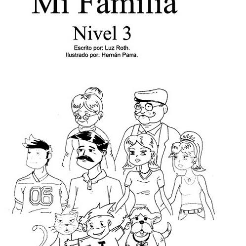 """Libro sobre """"Mi Familia"""""""