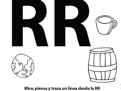 Mi Diario de la Letra RR