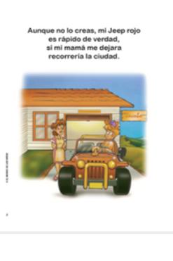 Mi Jeep rojo - libro