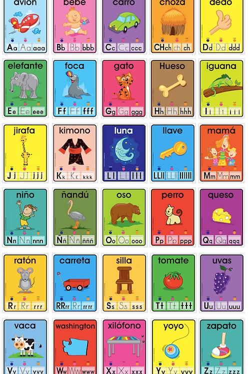 Spanish Alphabet Practice/(District Purchase)