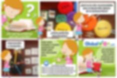 Cartel Lectoescritura Cartoon FEBRERO.jp