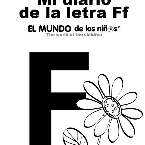 Mi Diario de la Letra F