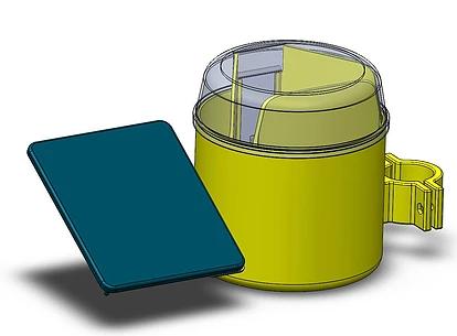 תכנון ובנייה של מלכודת זבובים אלקטרונית