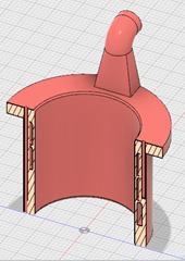 cut 3D cooling ring