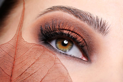 female-eye-with-brown-bright-make-up-and