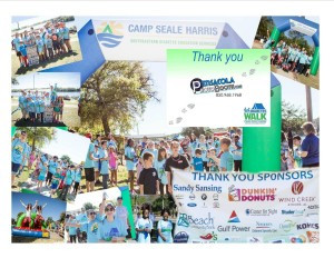 Thank You Pensacola Photo Booth from Pensacola Diabetes Walk for Camp Seale Harris