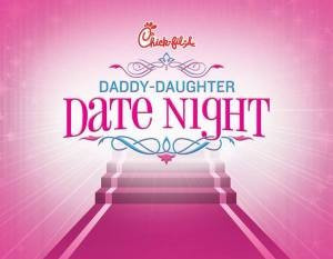 Chick-fil-A (9 mile rd.) Daddy-Daughter Date Night 2/11/16 5pm-8pm