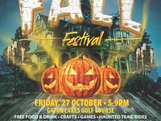 Fall Fest at Gator Lakes Golf Course