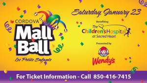 Cordova Mall Ball 2016 - Pensacola Photobooth will be there!