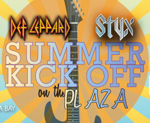 Kick off Party for Def Leppard & Styx - Bay Center - Mon. May 2nd 2016 FREE PHOTOS