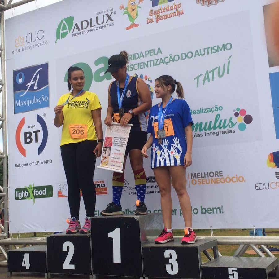 Gabriela - 2º Lugar / Contra Tempo Running