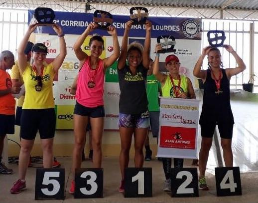Mariana 5ªlugar na categoria atleta de Capela do Alto - Contra Tempo Running
