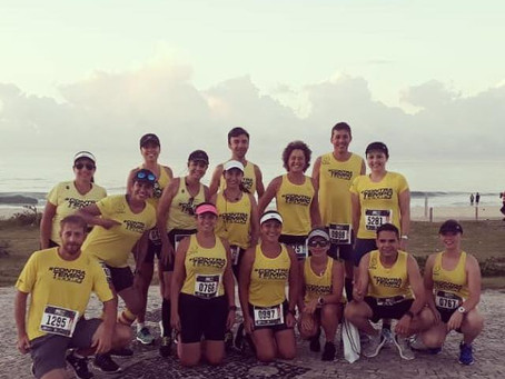 Contra Tempo Running/Climm marca presença na Rio City Half Marathon.