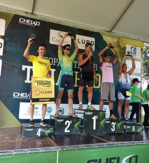 Diogo Gil - 4º lugar na categoria na Copa Interior de Triathlon -Contra Tempo Running /Climm