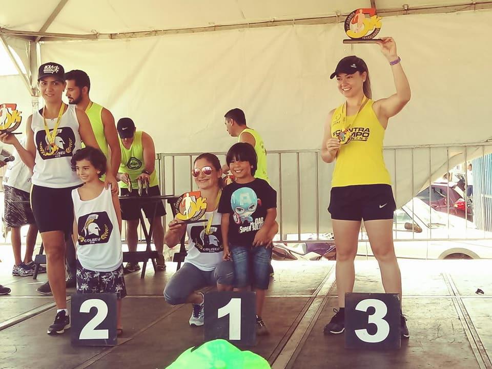 Mariana 3º lugar -Contra Tempo Running