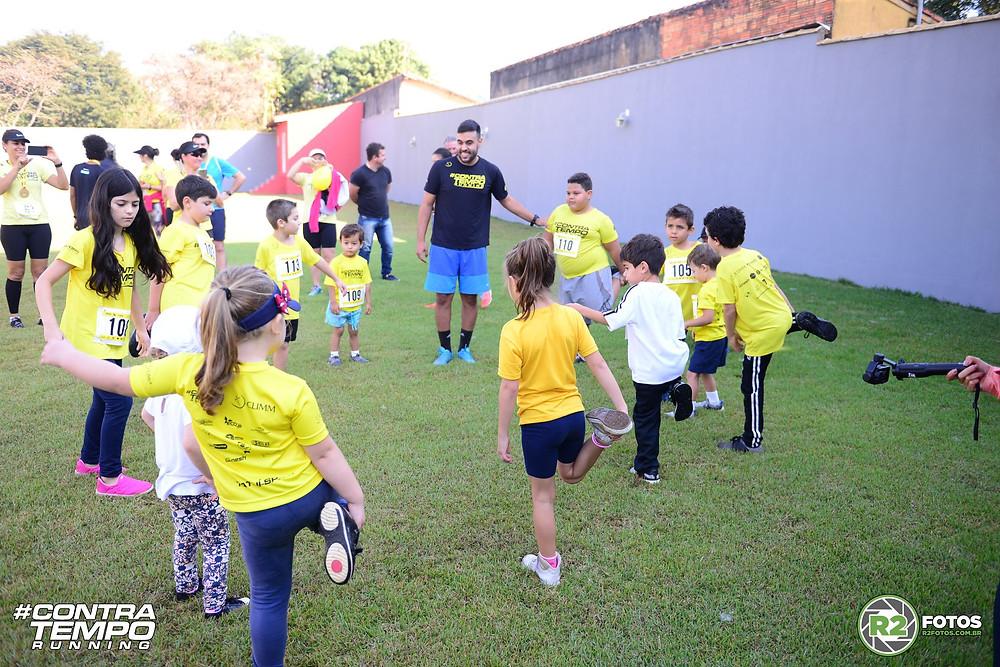 Corrida kids de Aniversário da Contra Tempo Running, 4 anos