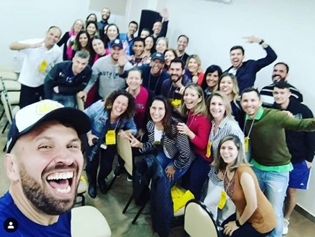 Final de semana com Workshop Superando Limites e prova de corrida.