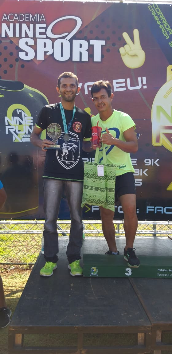 Damião - Contra Tempo Running - Corrida Nine Run