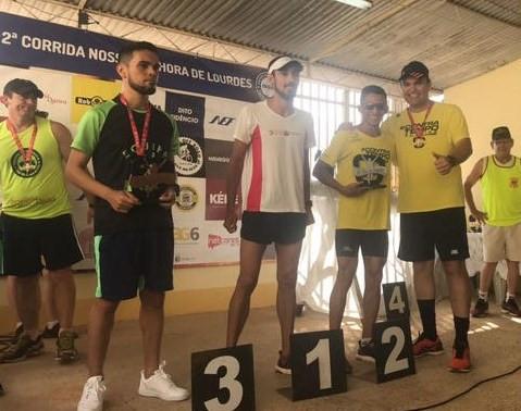 Maikon 2ª lugar na categoria - Contra Tempo Running