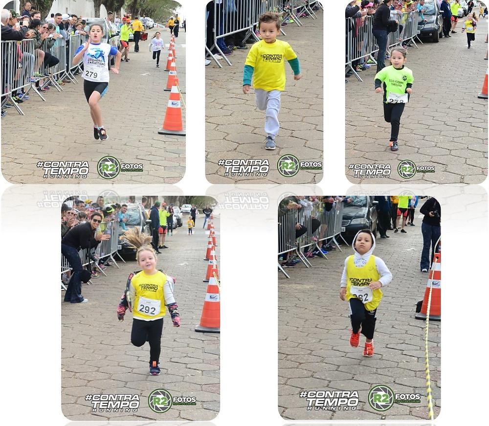 Corrida Kids Contra Tempo Running