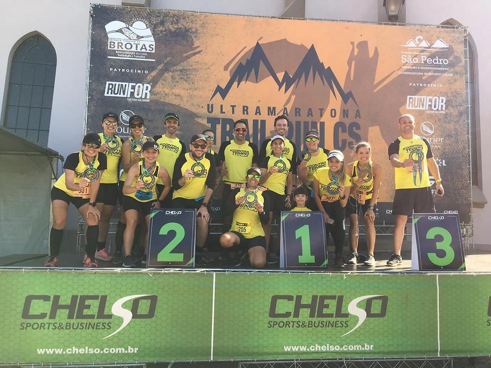 Contra Tempo Running na Ultramaratona CS - Brotas a São Pedro