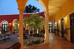 Colonial houses Merida