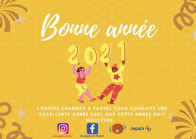 Meilleurs vœux 2021!