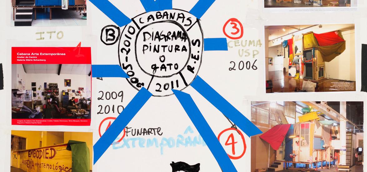 Diagrama pintura - o gato