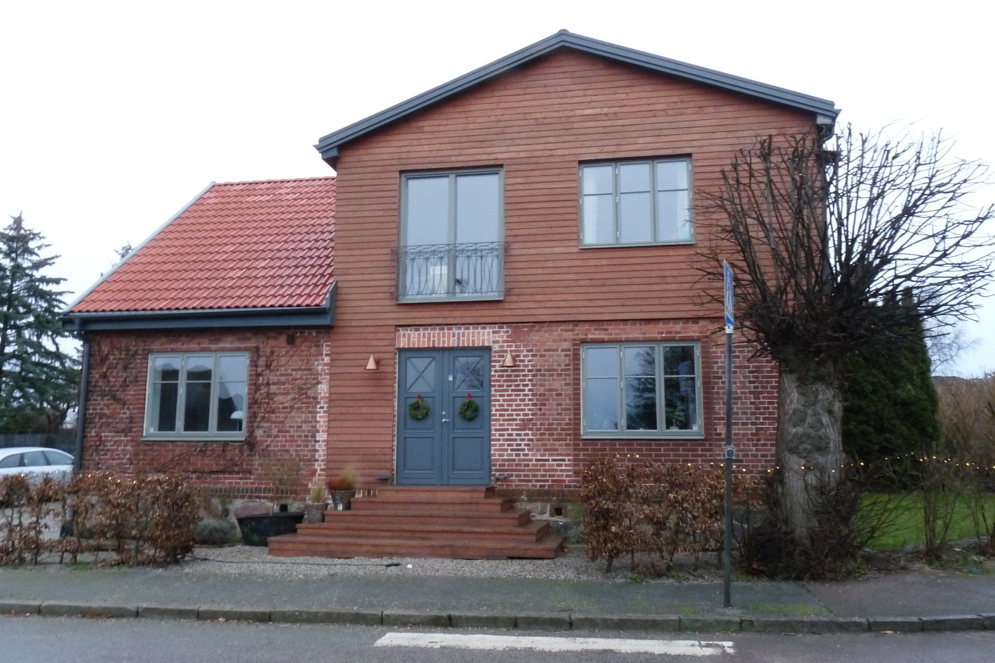 Billeberga-Bostadsombyggnad-Entréfasad - 2018
