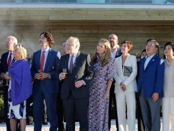 G7 leaders face hypocrisy accusations; violate social distancing protocol