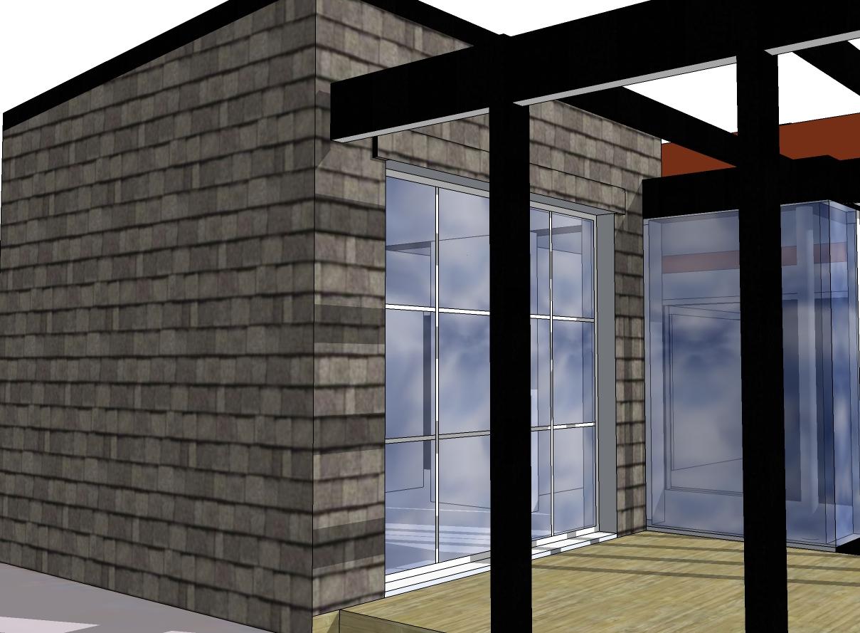 Tillbyggnad av bostad i Båstad