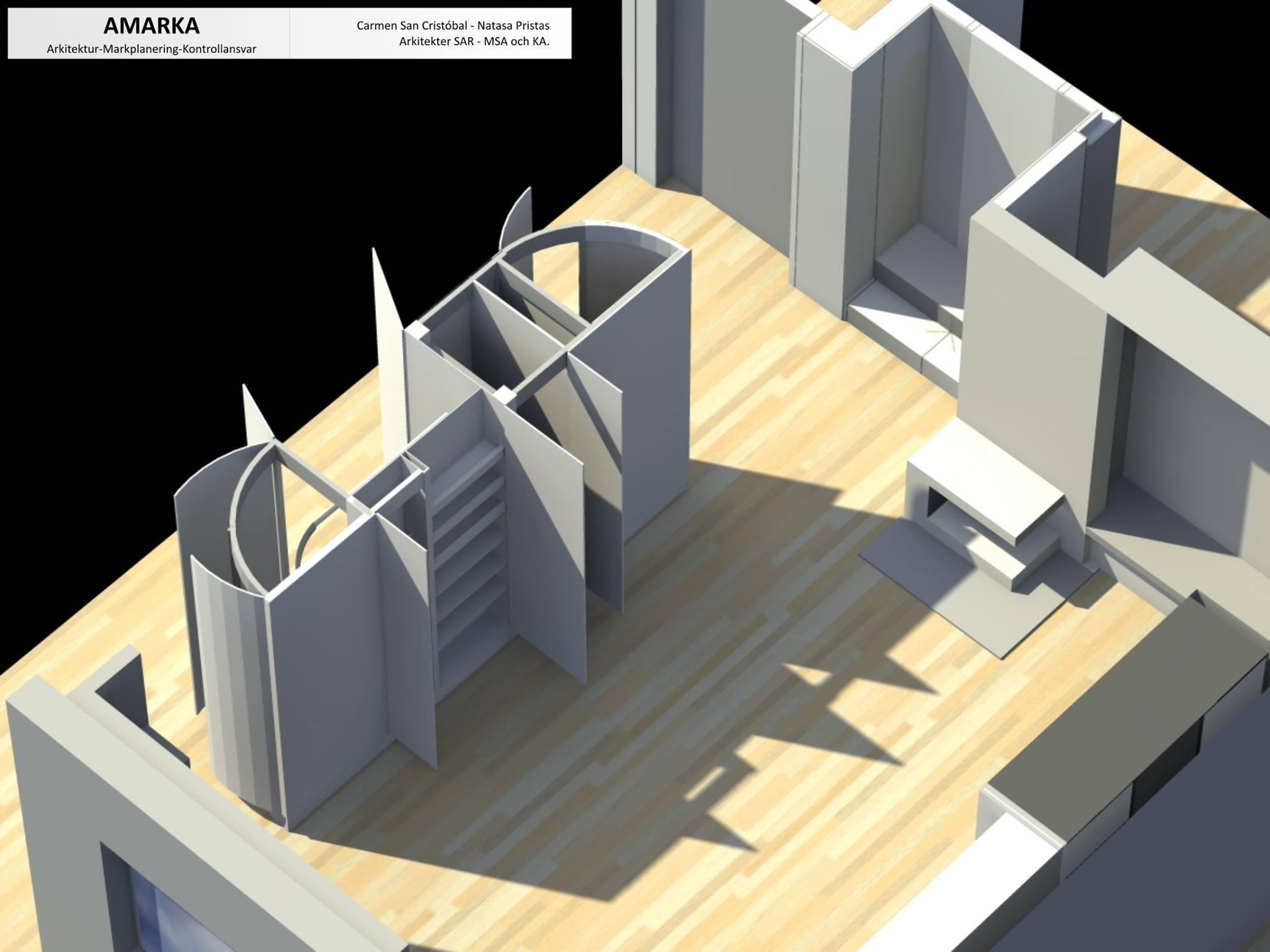 Ombyggnad av bostad i Berg (ÖG)